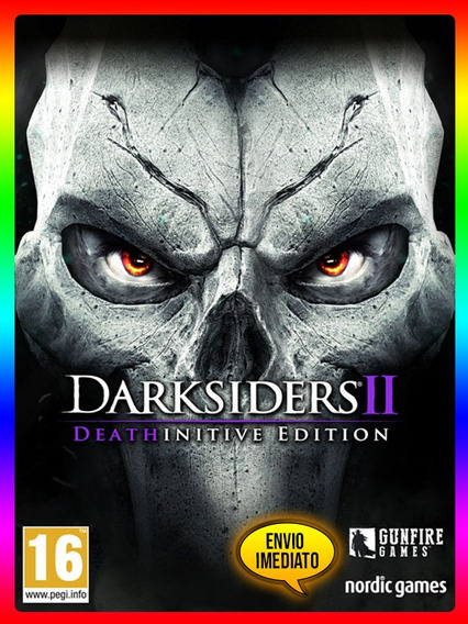 Darksiders 2 Deathinitive Pc - Steam Key (envio Já)