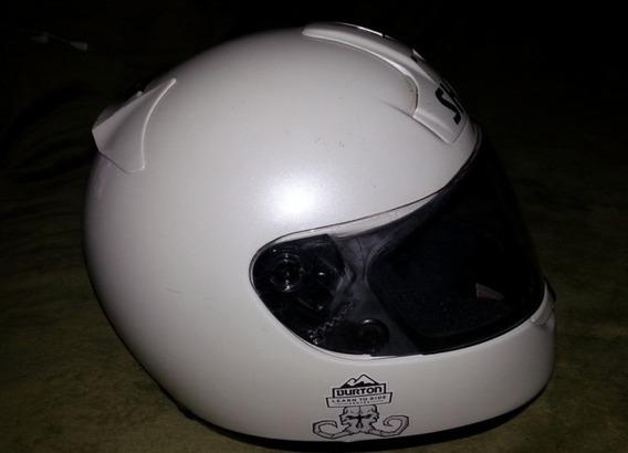 Shoei Semi Novo F1 Branco Eh Arai Shark Avg Bell Capacete