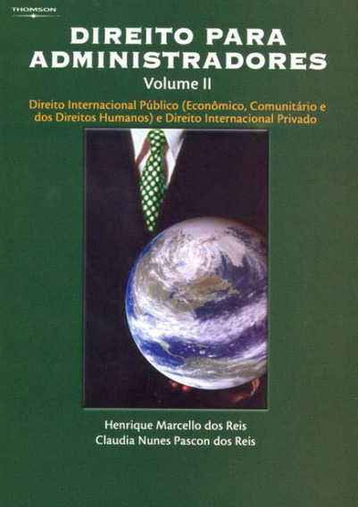Direito Para Administradores Volume Ii