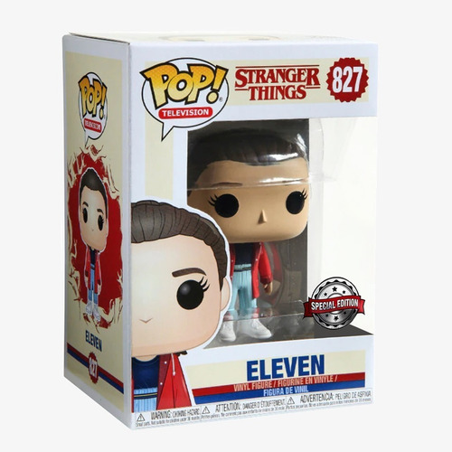 Eleven - Stranger Things  Ed Esp - Funko Pop #827 Collectoys