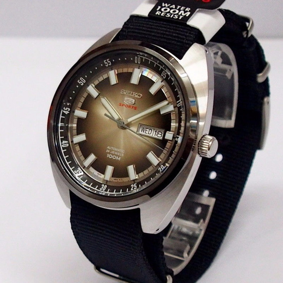 Seiko Automático Vintage Retrô Srpb23j1 Nato Made In Japan