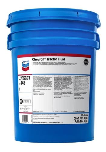 Fluido Hidraulico Transmision Chevron Tractor Fluid 18,93 Lt