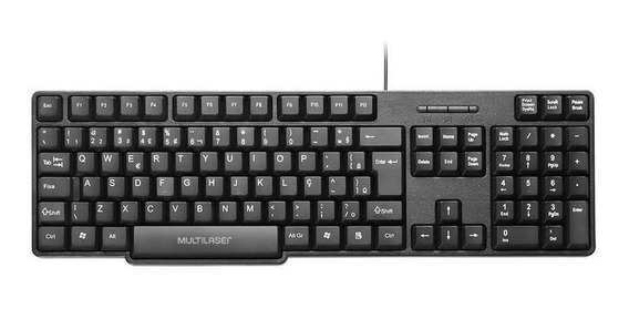 Teclado Multilaser Tc213 Modelo Abnt2 Usb Windows E Mac