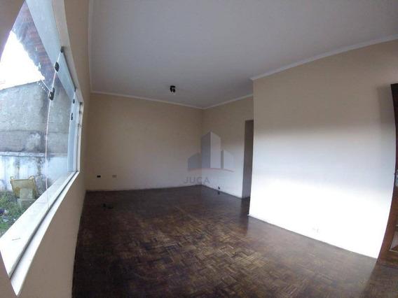 Casa Com 2 Dormitórios Para Alugar, 80 M² Por R$ 1.100/mês - Vila Assis Brasil - Mauá/sp - Ca0134