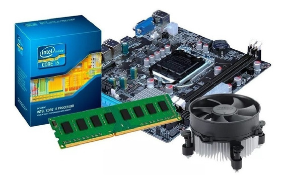 Kit Processador I5 3470 + Placa Mãe H61 + 8gb Ddr3