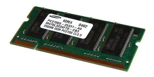 Lote 4 Memoria Notebooks Sansung Ddr 256 Pc 2700