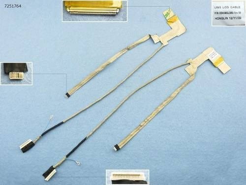 Flat Cable P/ Dell Inspiron 1764 Lcd Led Cable Dd0um5lc000