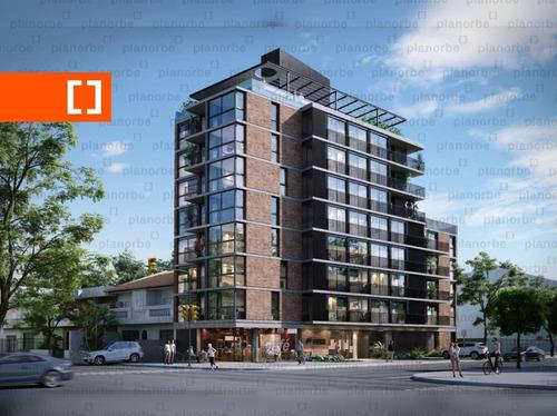 Venta De Apartamento Obra Construcción 1 Dormitorio En La Blanqueada, Torre Firenze Unidad 703