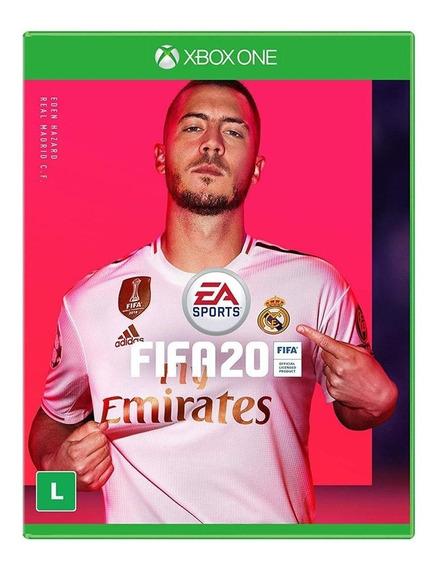 Fifa 20 Xbox One Midia Física Português Novo Futebol