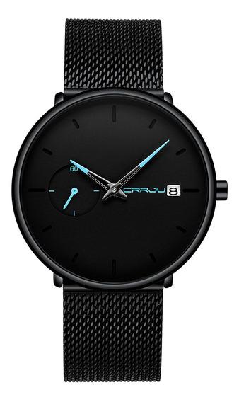 Los Hombres De La Moda Reloj De Cuarzo Simple Dial De Color