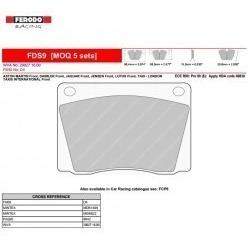 Pastillas  Ferodo Racing Fds9 Para Torino/ford /chevy