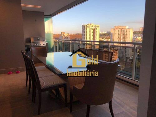 Apartamento Com 3 Dormitórios À Venda, 148 M² Por R$ 1.390.000 - Jardim Botânico - Ribeirão Preto/sp - Ap1977