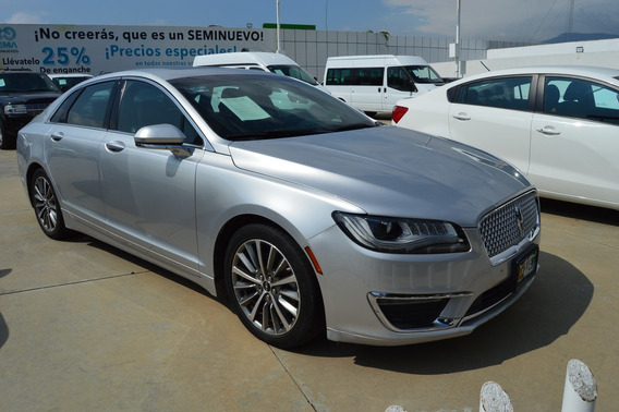 Lincoln Sedan Mkz Select 4c 2.0l Aut Plata Estelar 2017