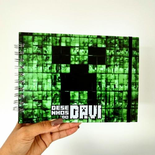 Caderno De Desenho Personalizado