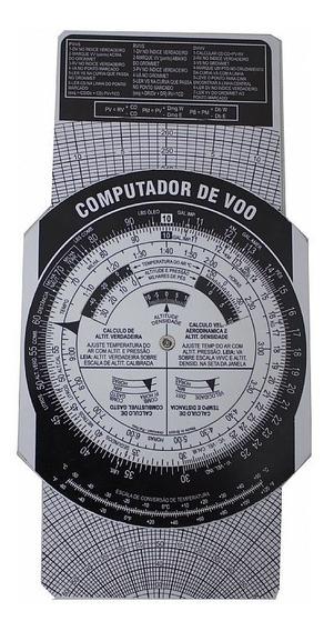 Combo Computador De Voo E Transferidor (frete Grátis)
