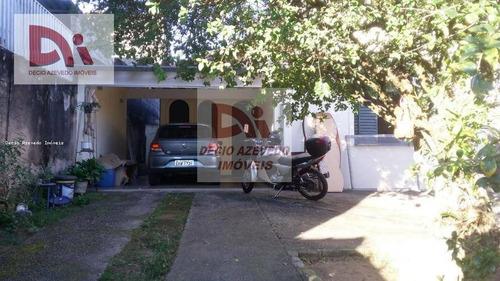 Casa Com 3 Dormitórios À Venda Por R$ 350.000,00 - Parque Senhor Do Bonfim - Taubaté/sp - Ca0092
