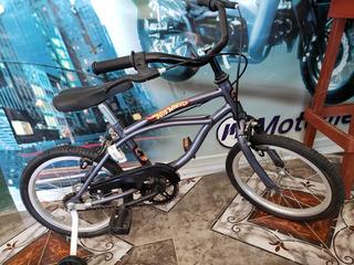 Bicicleta De Niño Con Rueditas!