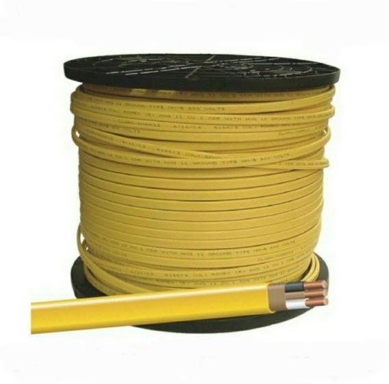 Cable Eléctrico Aislante Amarillo Romex 4 Alambres Y 65 Pies