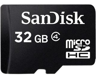 Micro Sd De 32gb Sandisk Con Adaptador