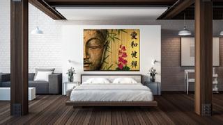 Pintura Cuadro Decorativo Moderno Abstracto Buda