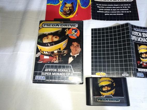 Super Monago Gp 2 Original Ayrton Senna
