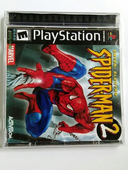 Jogo De Ps1 - Spider Man 2 Legendado Pt-br ( Patch )