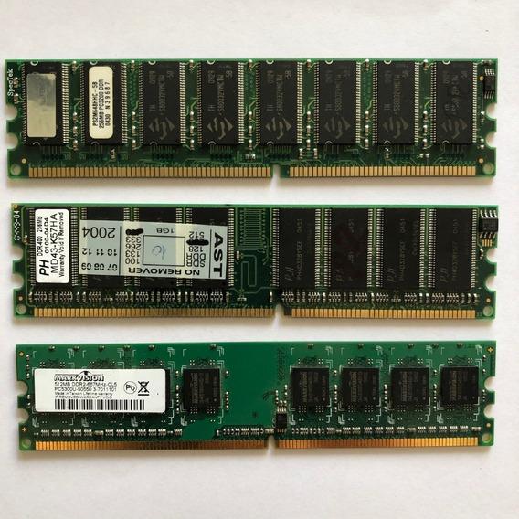 Memorias Ddr2 256 (2) Y 512mb