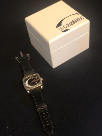 Relógio Just Cavalli - Pulseira De Couro