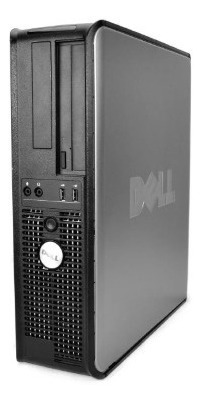 Cpu Dell 380 Core 2 Duo 4gb Ddr3 / Hd 160 + Teclado + Mouse