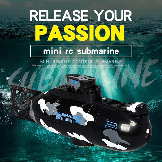 Create Toys 3311m Mini Rc Submarino Barco Rc Juguete Remoto