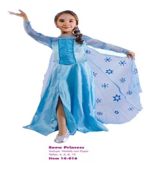 Disfraz Niña Princesa Elsa Frozen