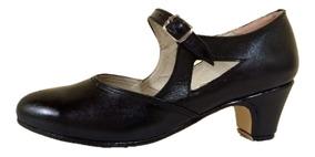 Zapatos De Danza - Tango, Jazz, Español Y Folclore.cuero