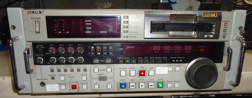 Imagem 1 de 10 de  Dvcam Sony Digital Videocassette Recorder Dsr-2000
