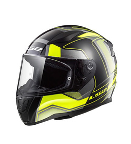 Capacete Ls2 Ff353 Rapid Carrera Black/yellow 58 (m)