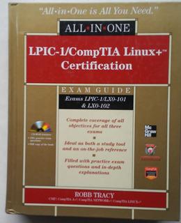 Lpic 1 Comp Tia Linux+ Certification + Cd Tapa Dura