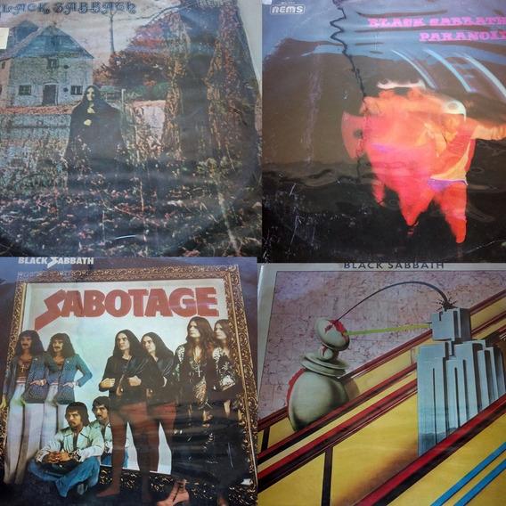 Black Sabbath Ozzy - Combo 4 Lps Disco Vinil