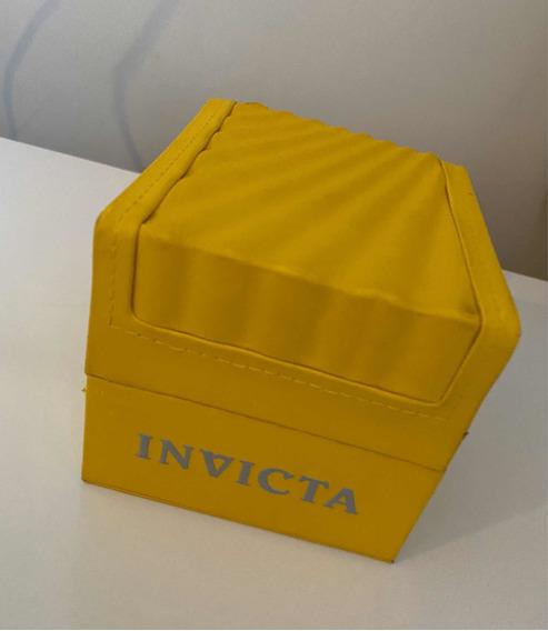 Relógio Invicta Speedway 25286 Swiss Banhado De Ouro 18k