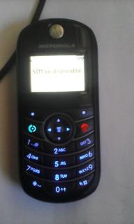 Telefono Basico Motorola C139 Telcel