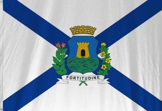 Bandeira De Fortaleza Município Capital Do Ceará Rara Nova
