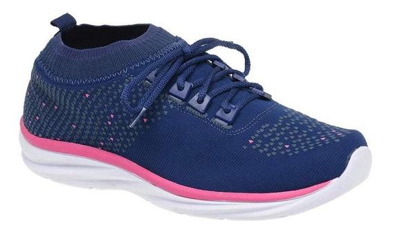 Tênis Esportivo Casual Feminino Star Flex Confortável 0541
