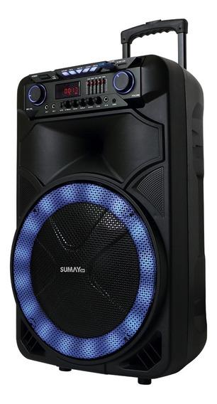 Caixa de som Sumay THUNDER X portátil sem fio Preto 110V/240V