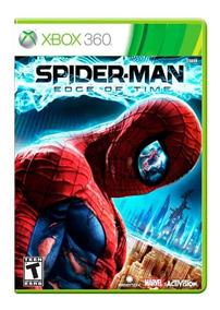 Spider-man: Edge Of Time Original Xbox 360 Capa Refeita