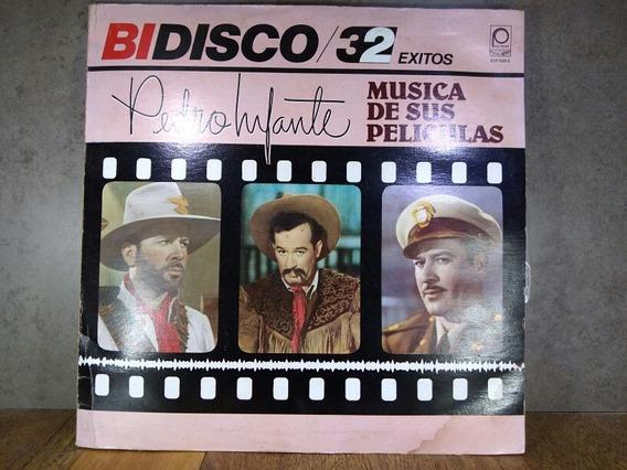 D988 Pedro Infante Música De Sus Películas Bidisco 32 Lp