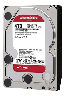 Disco Rigido 4tb Red Nas Wd Western Digital Raid Mexx 4