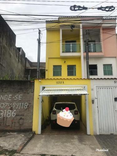 Imagem 1 de 10 de Sobrado Para Venda Por R$450.000,00 Com 80m², 2 Suites, 2 Vagas E 2 Banheiros - Cidade Líder, São Paulo / Sp - Bdi30017
