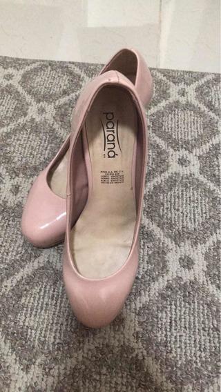 Zapatos Tacón Color Rosa 9 Cm