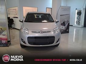 Fiat Nuevo Palio Attractive 1.4 2017 Gris 5 Puertas