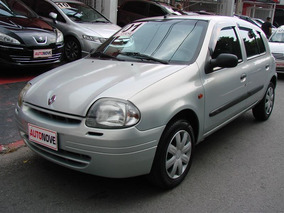 Renault Clio 1.6 Rn 16v Gasolina 4p Manual 2001/2001