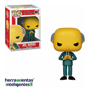Mr. Bruns Los Simpsons Funko Pop Tv Serie