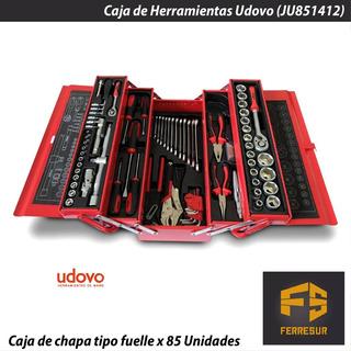 Caja De Herramientas Completa Con Kit De 85 Herramientas